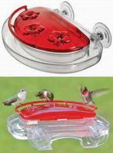 Aspects 407 Jewel Box Window Hummingbird Feeder